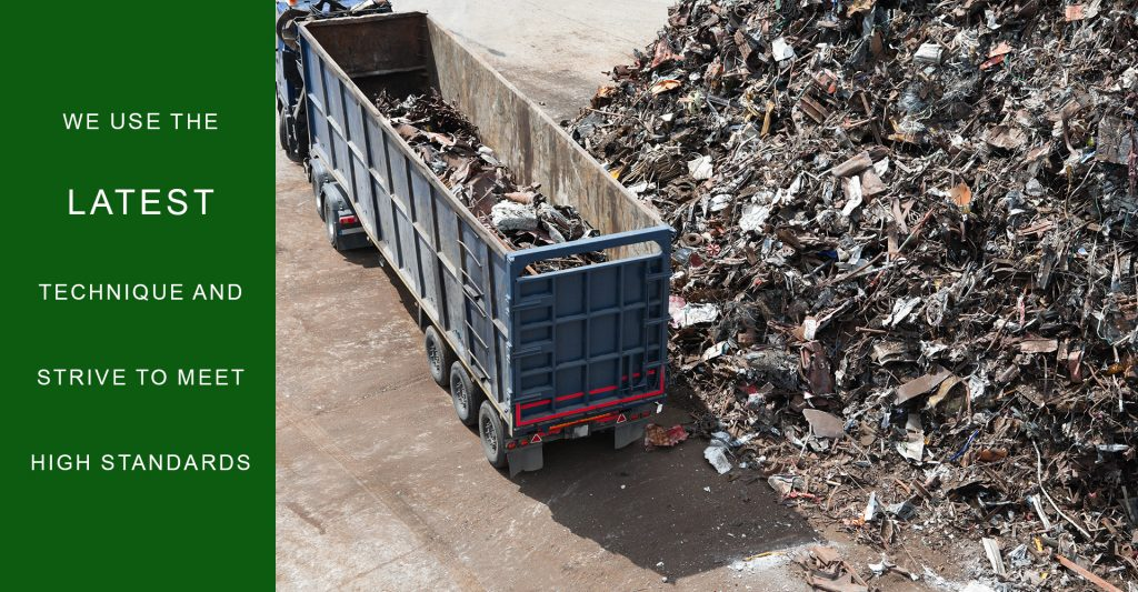 Picture of a Long Island dumpster rental service